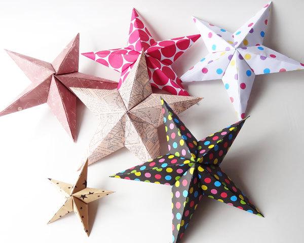 クリスマス 折り紙 折り紙 立体 星 : pinky-media.jp