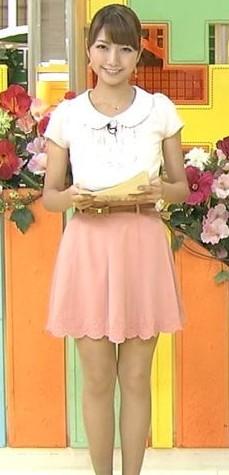 三田友梨佳アナのかわいい画像30選!水着や制服はある?ミニスカも!のサムネイル画像