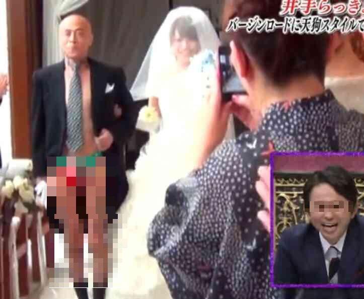 井手らっきょの息子はROOK!娘の結婚式でド派手パフォーマンス!のサムネイル画像