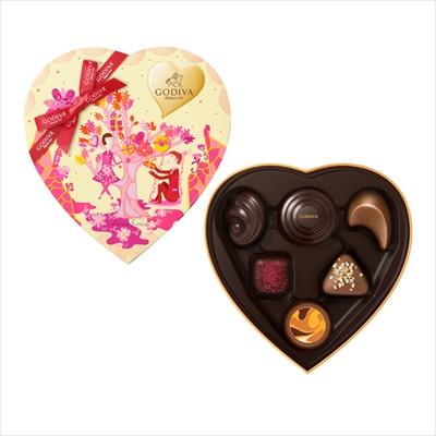 ゴディバのバレンタイン2017で本命チョコ!ハート缶もかわいい!