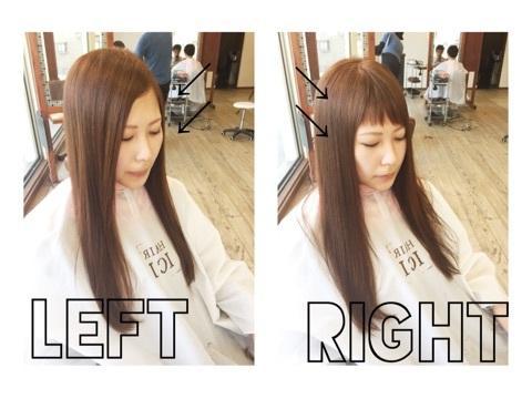 ダブルバングで前髪も2WAY!ボブ・ショート・ロング・ミディアムのヘアカタログのサムネイル画像
