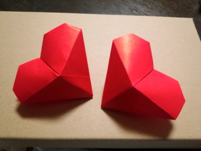 ハート 折り紙 ハート 折り紙 立体 : pinky-media.jp