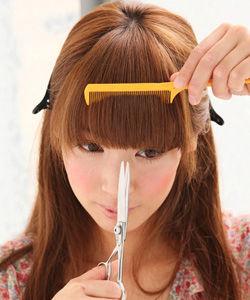 前髪のダブルバングの切り方と失敗しないセルフカットの方法まとめ!