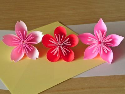 ハート 折り紙 折り紙 ぼんぼり : pinky-media.jp