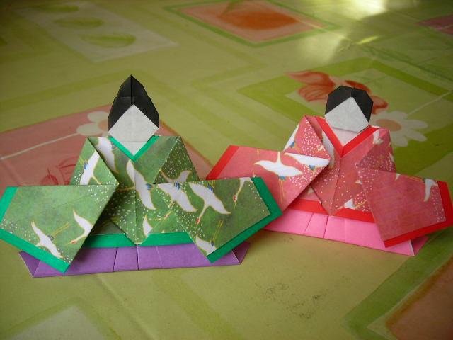 ハート 折り紙 折り紙 ひな人形 折り方 : pinky-media.jp
