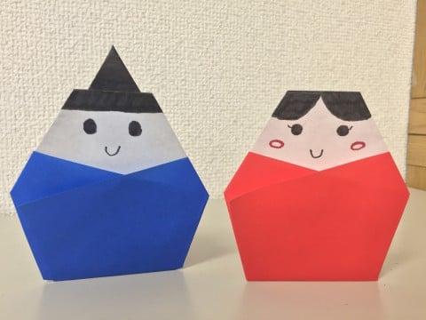 ひな祭りの雛人形を折り紙で製作!簡単な作り方まとめ!飾りも手作り