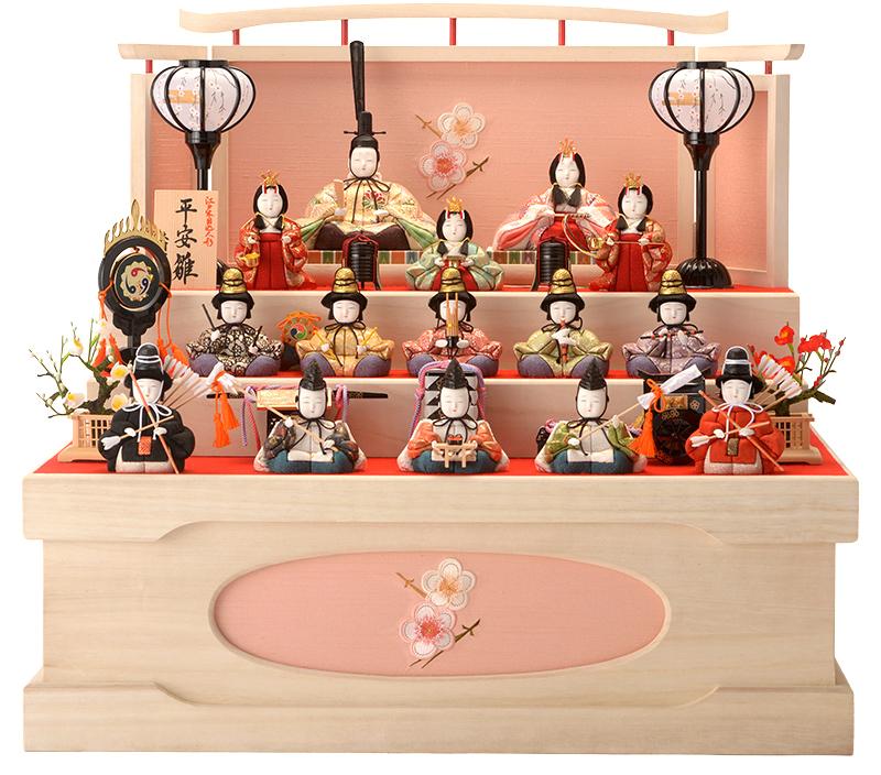 雛人形がコンパクトに!かわいいと人気!小さいけど本格的なのはどれ?のサムネイル画像