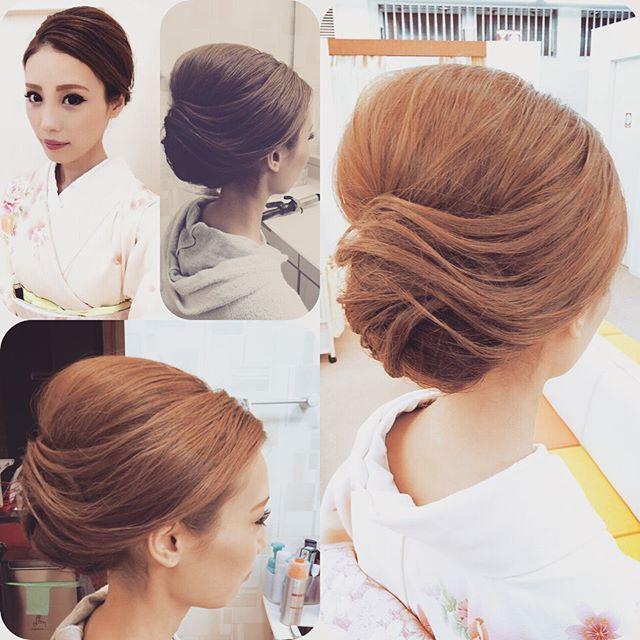 入学式の着物に似合う髪型・ヘアスタイルまとめ!自分で簡単に