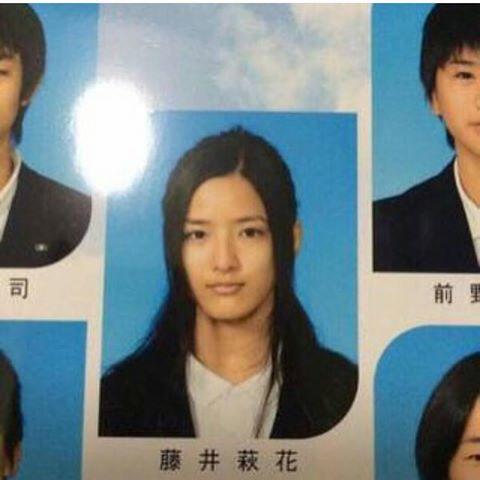 藤井萩花の出身高校は?百田夏菜子と同級生!卒アル
