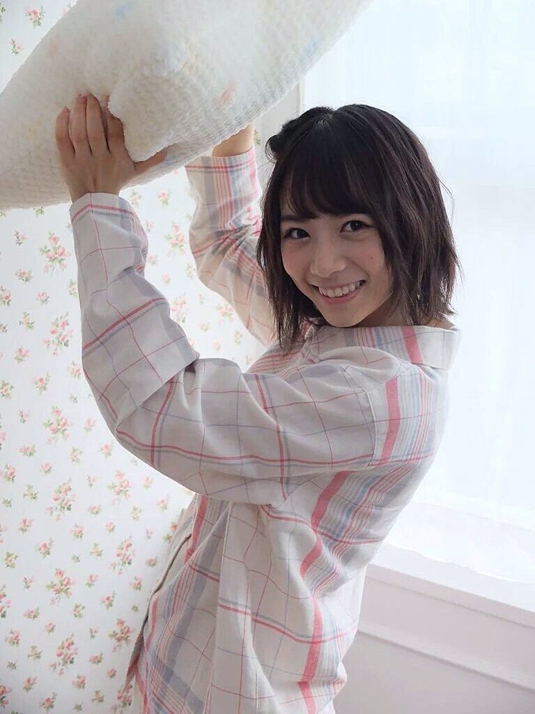 パジャマ姿の北野日奈子