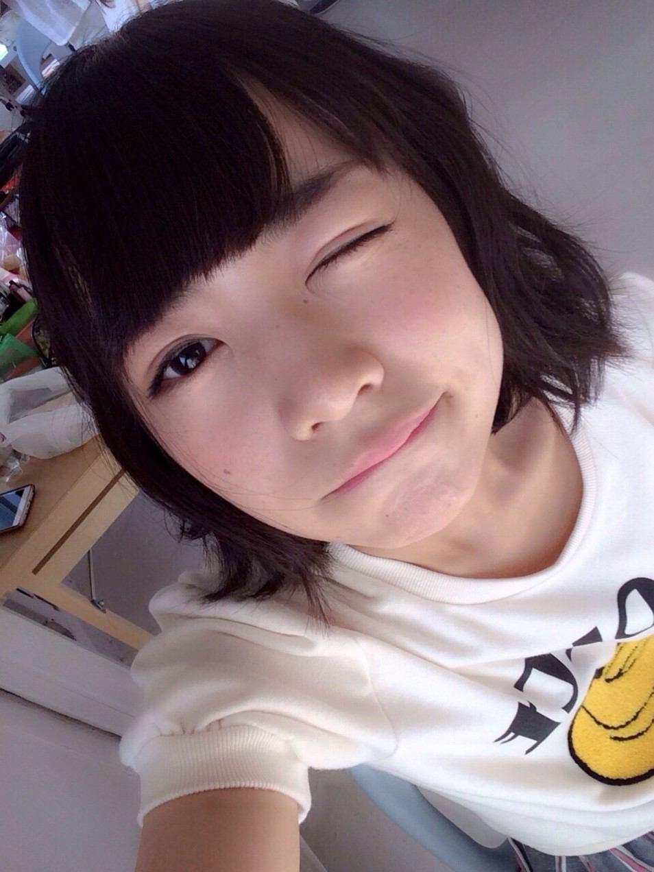 ウインクが可愛い北野日奈子