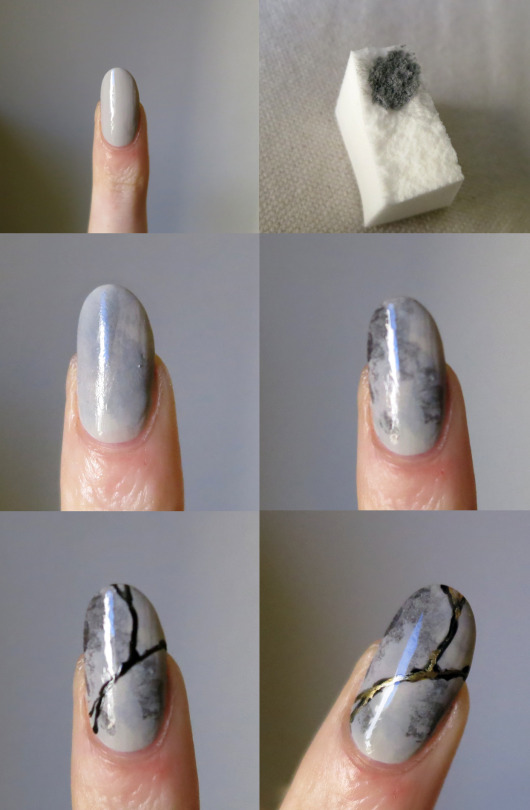 大理石ネイルのやり方&作り方!100均のマニキュアも使える?のサムネイル画像