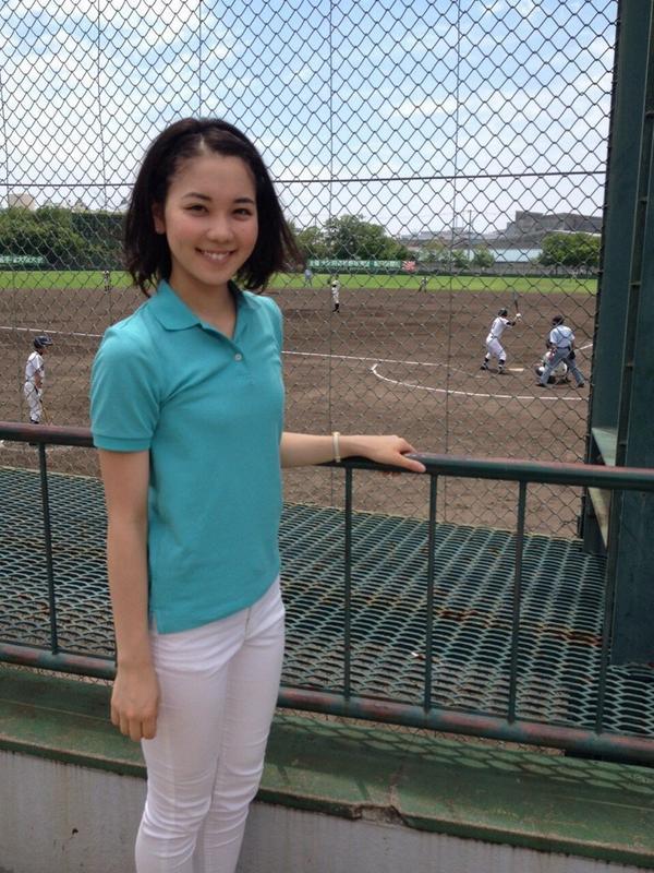 高校野球のキャスターも務めるヒロド歩美