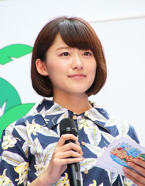 汐留でのイベントに参加する尾崎里紗
