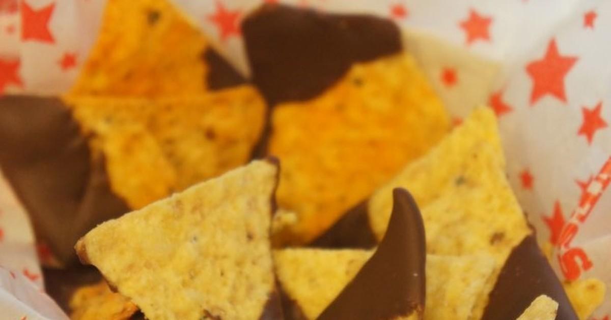 やみつき*チョコトルティーヤチップス by わらし [クックパッド] 簡単おいしいみんなのレシピが262万品