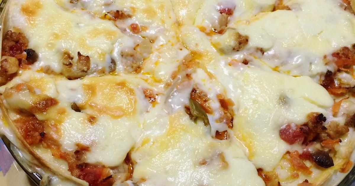 コストコのトルティーヤでお手軽ラザニア by greenforU [クックパッド] 簡単おいしいみんなのレシピが262万品