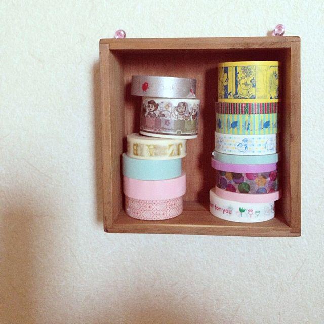 マスキングテープの収納方法|無印や100均の収納グッズが便利?のサムネイル画像