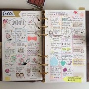 手帳のかわいい書き方をマスターしたい!シールも活用してかわいくしよ!のサムネイル画像